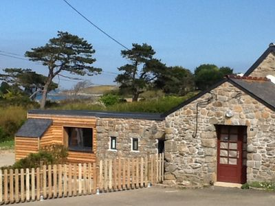 "Photo for Charming cottage on the seafront Côtes d'Armor. ""L'Air du Large"" welcomes you."