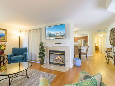 Photo for Ritz Pointe Rendezvous - AC - Free Wifi - Newly remodeled - Walk to Salt Creek Beach!