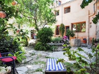 Photo for Great romantic village house in the center of Felanitx and not far from the sea