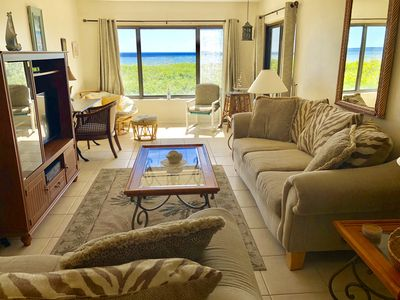Photo for Ocean front Condo with private beach access.