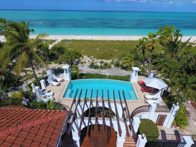 Photo for STAY 7 NIGHTS FOR THE PRICE OF 6 IN MARCH/APRIL 2019! Grace Bay Beach ,Sleeps 10