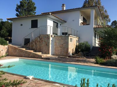 Photo for Villa 170 m2 4ch 3 bathroom pool 5x10 WIFI Sit. Hotel Belvédère Air Conditioning