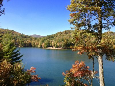 Photo for Luxurious Lake Glenville Lodge-Incredible Views/Large Dock/Perfect For Families!