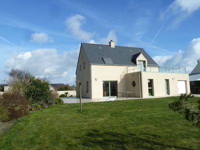 Photo for St-Marcouf, comfortable villa by the sea (50m), close to the landing beaches