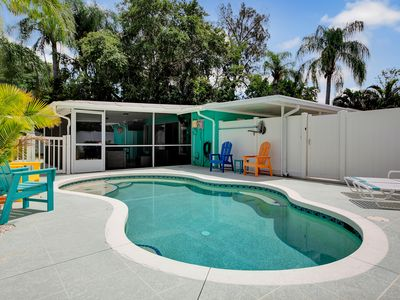 Photo for Heated Private Salt Water Pool near Siesta Key, Downtown Sarasota, Gulfgate