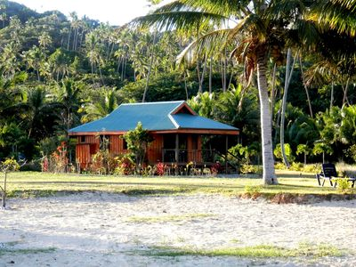 Photo for Seahorse Bungalow - Truly beachfront, modern, comfortable, private, clean