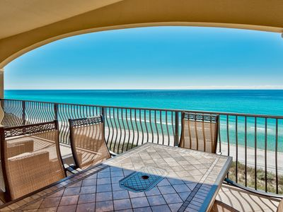 Photo for Adagio A304 YFAB's 4 bedroom gulf front,three king beds plus two queen beds!!
