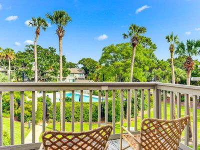 Photo for Beach-themed villa in Wild Dunes w/ shared pool - walk to the beach & golf!