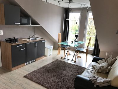 Photo for 50m² 2 room apartment on the outskirts of Hamburg and twenty minutes to the Baltic Sea