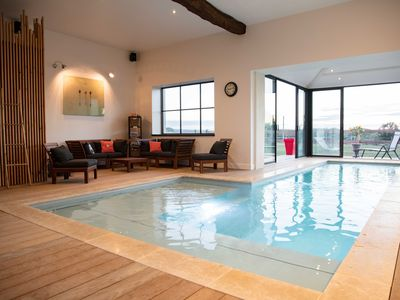 Photo for Gite: The Vagastines, 4 stars, indoor pool, 6 pers, St Germain plain