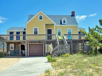 Photo for OCEANFRONT- 4 BRs, Direct Beach Access, Screen-In Porch, Classic Beach House