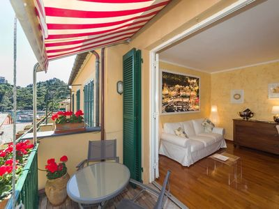 Photo for In the heart of Portofino - 2 bedrooms, 1 bathroom