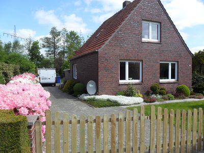 Photo for Charming country house with garden, pond, sauna, stove in a secluded location, 130 sqm