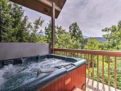 Photo for NEW! Gatlinburg Home w/Private Hot Tub & Mtn Views
