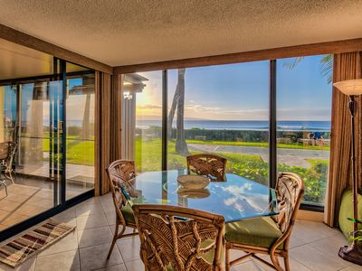 Photo for Summer Sale & 100% Oceanfront!!  Premium & Extra Spacious Groundfloor Sleeps 4