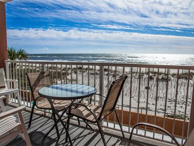 Photo for Directly on the Gulf  (#202) - BEACHFRONT - Sleeps 6