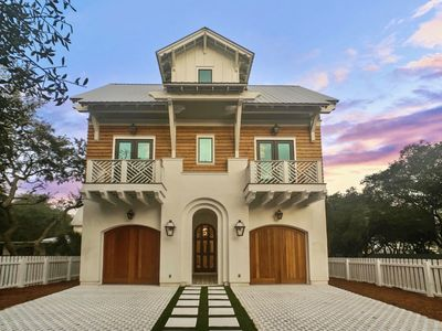 Photo for New Grayton Beach 7 BR Custom Home a block from the Beach, Red Bar and Lake.