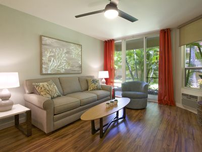 "Photo for ""Barefoot Bungalow"" - Newly Remodeled 1 Bedroom Condo Just Steps to the Beach!"