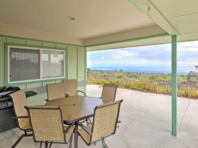 Photo for Ocean View House w/Lanai 7 Mi. from South Point!
