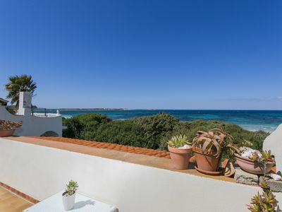 Photo for Seafront house in Sa Rocca Tunda