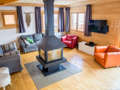 Photo for Ideal chalet for 1, 2 or 3 families, with sauna, in the heart of Montgenèvre