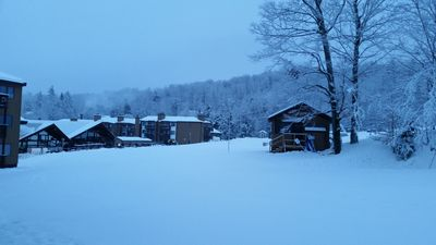 View from Porch. SKi In and Out.