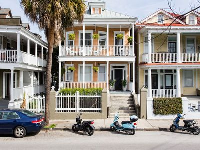 Photo for A1 DRIVE & PARK TO SUNNY WALKABLE CHARLESTON @St Philip Square. Peach House 1