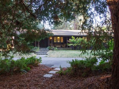 Photo for Forest Ridge - Serene Forest Wine Country Retreat with Sauna, Pool, and Spa!