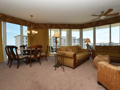 Photo for Beachview Condo. Large Balcony. Home away from home! Free Beach Service