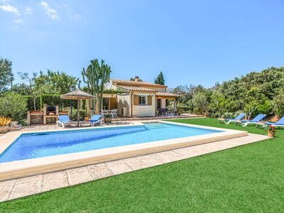 Photo for Can Canto - This Villa includes a private pool, WI-FI & table tennis
