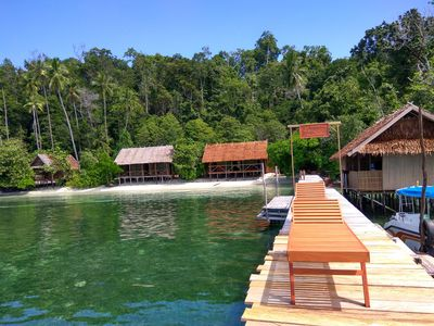 Photo for best rajaampat homestay. the best spot for snorkling and diving mansuar island,,