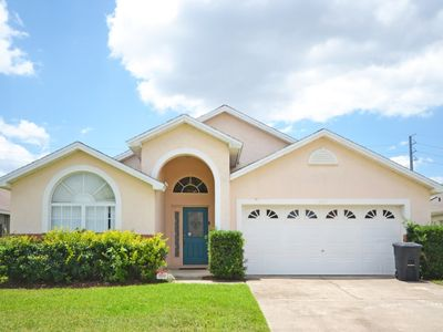 Photo for NEW LISTING - Fantastic 5 bed pool home just minutes to attractions