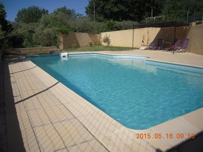 Photo for RENT GROUND OF VILLA 175 m with private SWIMMING POOL