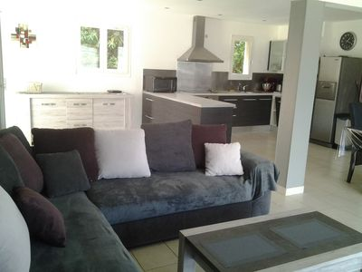 Photo for House 8 persons sea view, with garden and access to the beach on foot, wifi