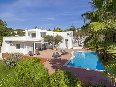 Photo for Lluc Jesus area 5 min from Ibiza, private pool, BBQ, wiffi