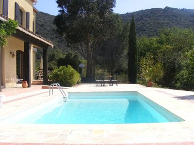 Photo for Les Sargantanes: A Villa With Private Pool And Mountain Views