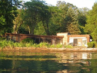 Photo for Quiet, Private Lakefront Cottage - Skaneateles Lake