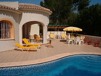 Photo for Detached Superior Modern Villa With Private Pool, Free Wifi and Air-Conditioning