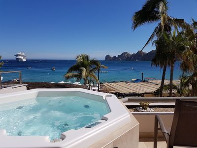 Photo for Two Bedroom Executive Beach Front Suite in Cabo San Lucas