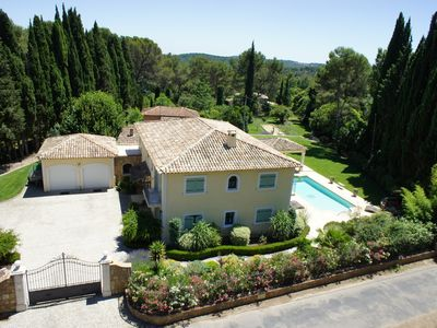 Photo for Villa of 330 sqm located in a private and secure area