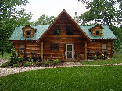 Photo for Cozy Log Home 'Sweetlife' 2 master suites with expansive deck and