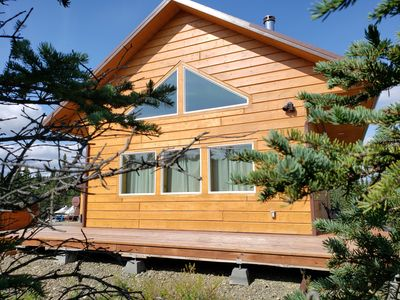 Denali Wild Stay, Bear Cabin with private Hot Tub and free Wifi