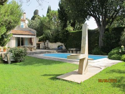 Photo for Mansion with pool and large garden in the Provence