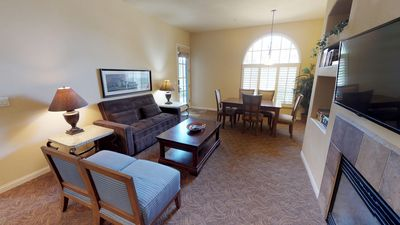 Photo for A Downstairs One Bedroom a Short Walk to the Main Pool and Fitness Center!