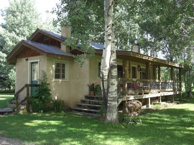 Photo for Comfy cabin! Private access to San Juan River, and extrordinary fly fishing!