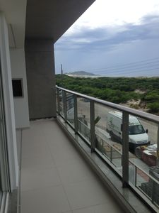 Photo for Apartment facing the SEA in Florianópolis in the best building and location in the region