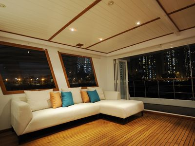 Photo for 4BR House Boat Vacation Rental in A Kung Ngam