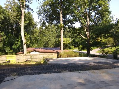 Photo for Pack up the Camper and Go Glamping by Lake Blue Ridge. Fish, Swim, Boating