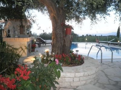 Photo for Villa with Private Pool and Sea Views in North East of Corfu
