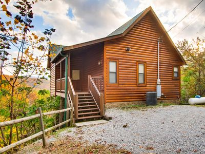 Photo for Rocky Top Joy, this cabin is decorated with quaint, luxury furnishings